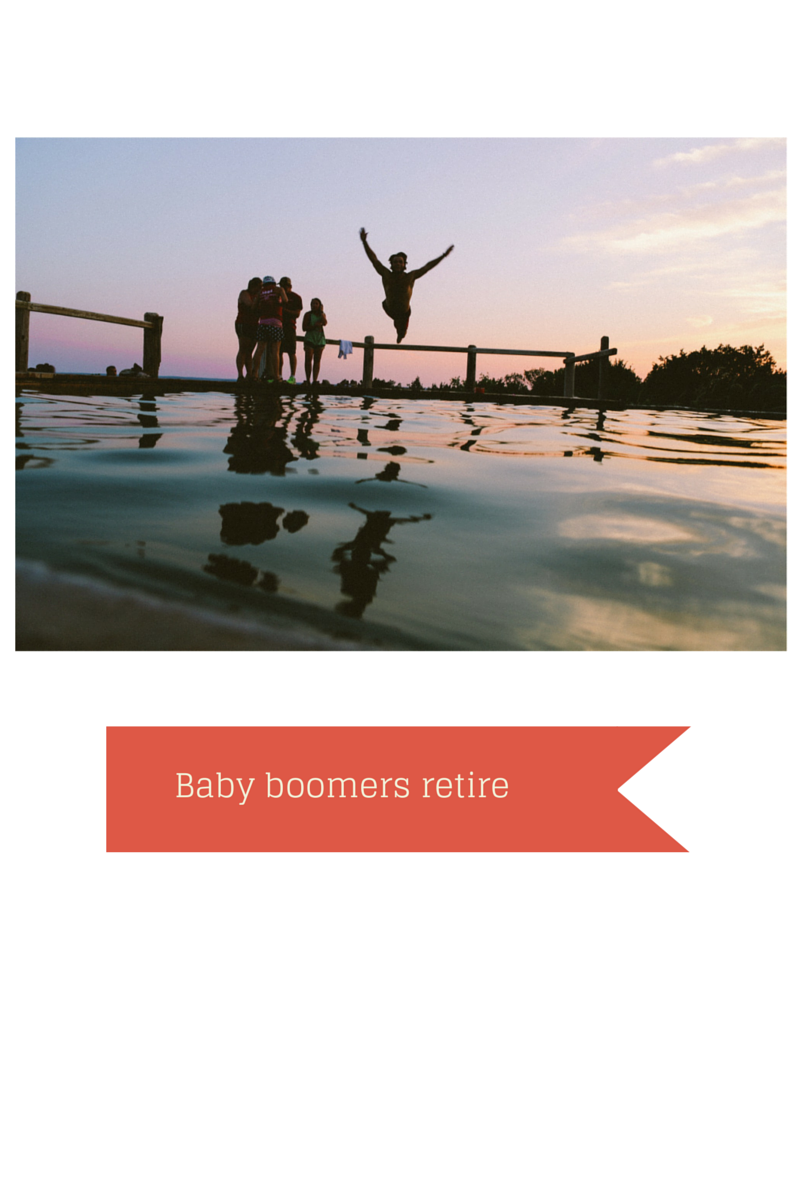Jumping into a lake will baby boomers retire?