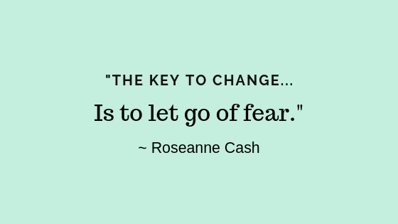fear of change quote